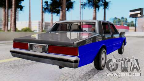 Chevrolet Caprice 1980 SA Style Civil for GTA San Andreas left view