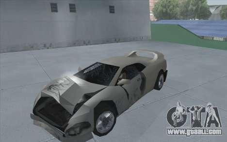 GTA 3 Infernus SA Style for GTA San Andreas back left view