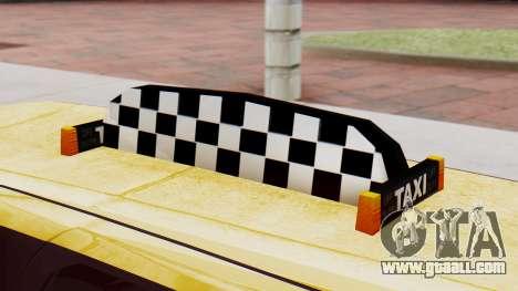 Landstalker Taxi SR 4 Style Flatshadow for GTA San Andreas right view