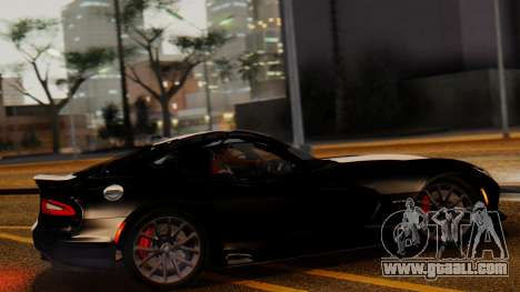 Dodge Viper SRT GTS 2013 IVF (MQ PJ) LQ Dirt for GTA San Andreas left view