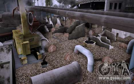 Building on Grove Street v0.1 Beta for GTA San Andreas sixth screenshot