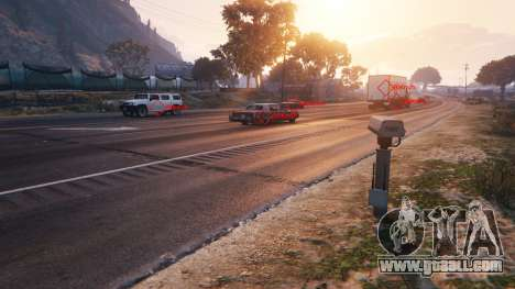 Police radar v1.1 for GTA 5
