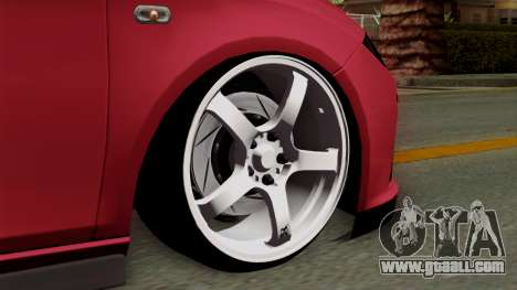 Seat Leon Cupra Static for GTA San Andreas back left view