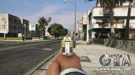 GTA 5 Asiimov Pistol.50 sixth screenshot