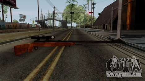 Original HD Sniper Rifle for GTA San Andreas second screenshot