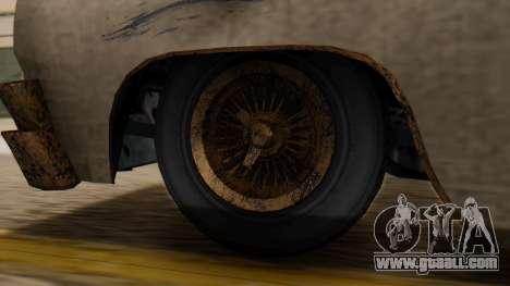 GTA 5 Declasse Voodoo Worn IVF for GTA San Andreas back left view