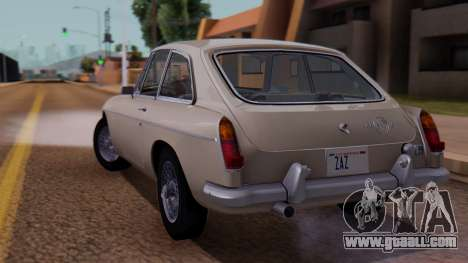MGB GT (ADO23) 1965 IVF АПП for GTA San Andreas left view