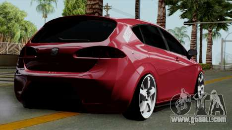 Seat Leon Cupra Static for GTA San Andreas left view