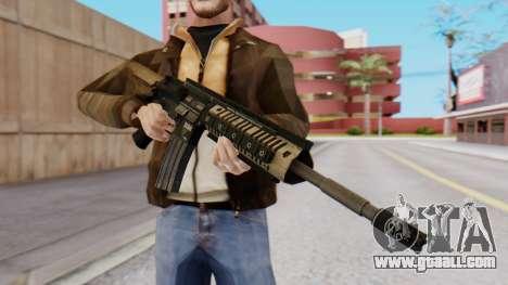 M4A1 Magpul for GTA San Andreas second screenshot