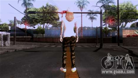 Skin girl for GTA San Andreas third screenshot