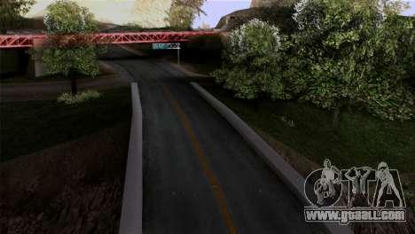 Roads Full Version LS-LV-SF for GTA San Andreas second screenshot