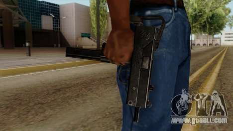 Original HD Micro SMG for GTA San Andreas third screenshot