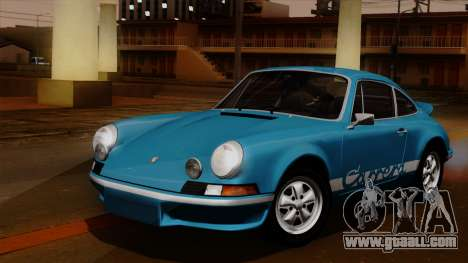 Porsche 911 Carrera RS 2.7 Sport (911) 1972 HQLM for GTA San Andreas inner view
