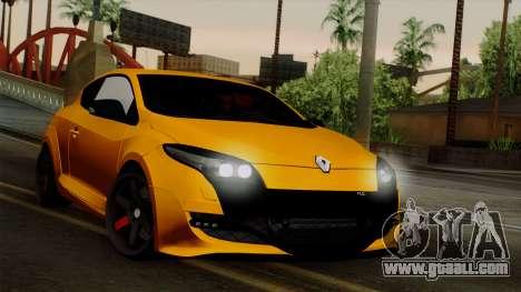 Renault Megane Sport HKNgarage for GTA San Andreas