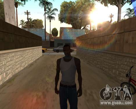 The sun from GTA 5 Final for GTA San Andreas second screenshot