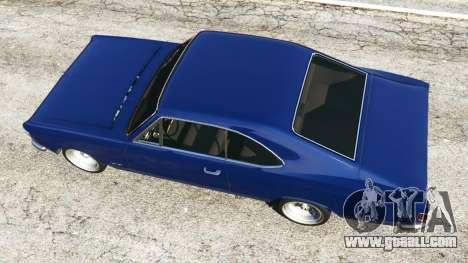 GTA 5 Chevrolet Opala Gran Luxo back view