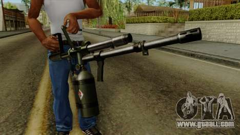 Original HD Flame Thrower for GTA San Andreas third screenshot