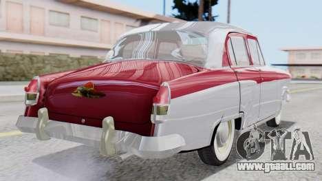 GAZ 21 Volga v2 for GTA San Andreas left view