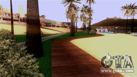 New beach in Los Santos for GTA San Andreas fifth screenshot
