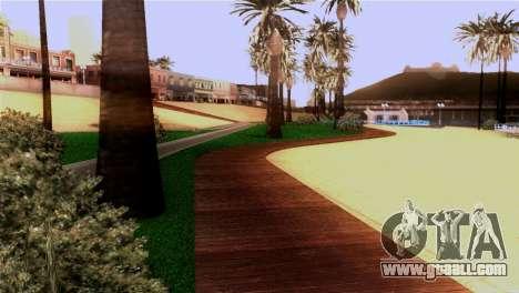 New beach in Los Santos for GTA San Andreas fifth screenshot