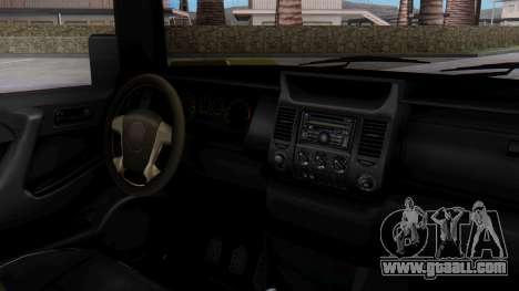 GTA 5 Patriot Dirt for GTA San Andreas right view