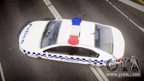 Holden VF Commodore SS NSW Police [ELS] for GTA 4 right view