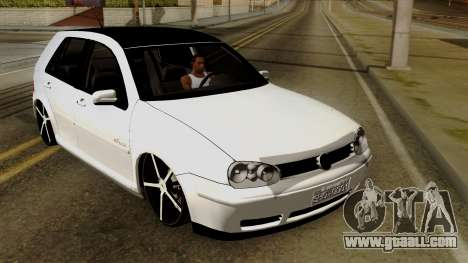 Volkswagen Golf 2004 Edit for GTA San Andreas inner view