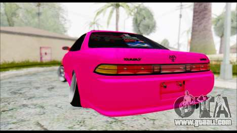 Toyota Mark 2 90 Stock3 for GTA San Andreas left view