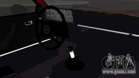 Opel Manta B1 for GTA San Andreas right view