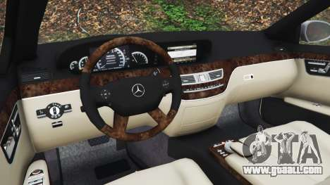 GTA 5 Mercedes-Benz S500 W221 v0.3 [Alpha] right side view