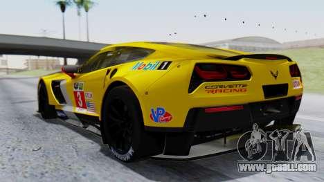 Chevrolet Corvette C7R GTE 2014 PJ1 for GTA San Andreas left view