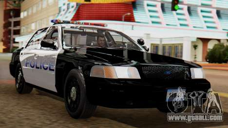 Police LS 2013 for GTA San Andreas