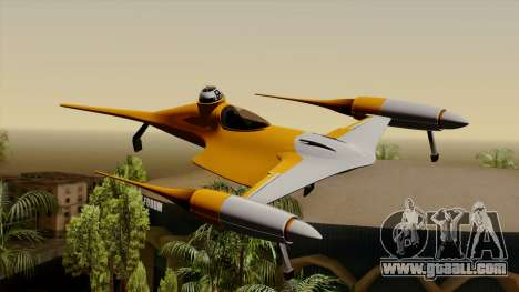 Star Wars N-1 Naboo Starfighter for GTA San Andreas