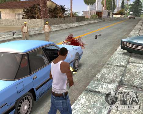 Blood Effects for GTA San Andreas forth screenshot