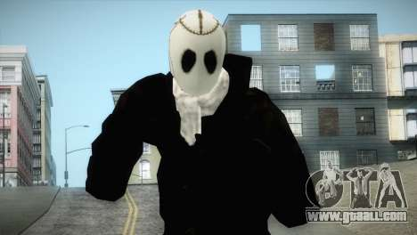 Franklyn Movie Skin for GTA San Andreas