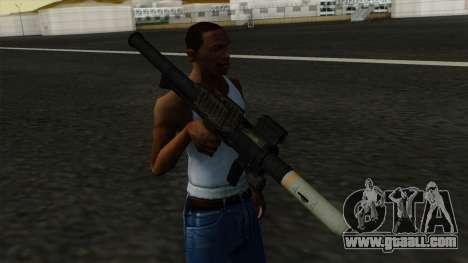 Homing Rocket Launcher for GTA San Andreas