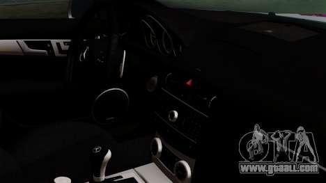 Mercedes-Benz C63 AMG Momoka and Nonoka Itasha for GTA San Andreas right view