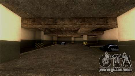 New LSPD Parking for GTA San Andreas second screenshot