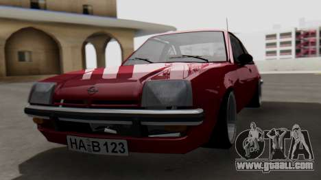 Opel Manta B1 for GTA San Andreas
