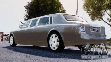 Rolls-Royce Phantom LWB for GTA 4 left view