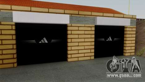 New textures of the old garage in Doherty for GTA San Andreas third screenshot
