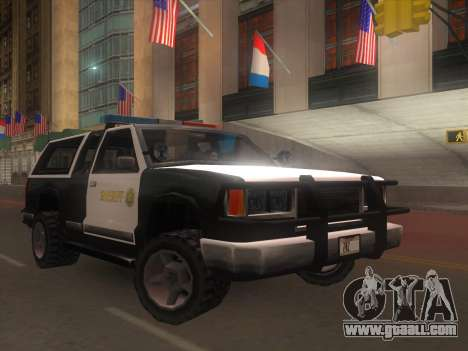 Yosemite Police 2015 for GTA San Andreas
