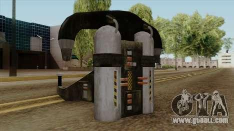 Original HD Jetpack for GTA San Andreas