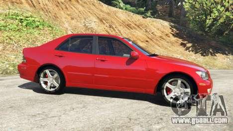 GTA 5 Lexus IS300 left side view