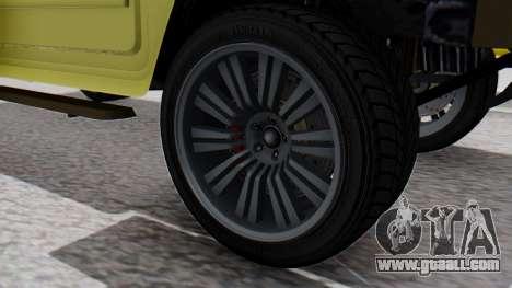 GTA 5 Patriot Dirt for GTA San Andreas back left view