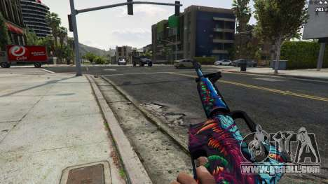 GTA 5 Hyper Beast Edition: M4A1-S sixth screenshot
