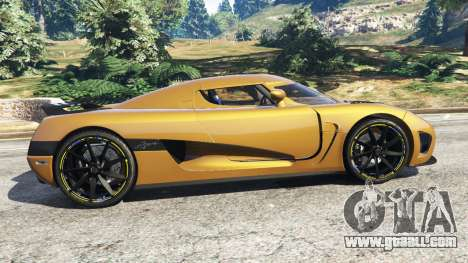 GTA 5 Koenigsegg Agera v0.8 [Early Beta] left side view