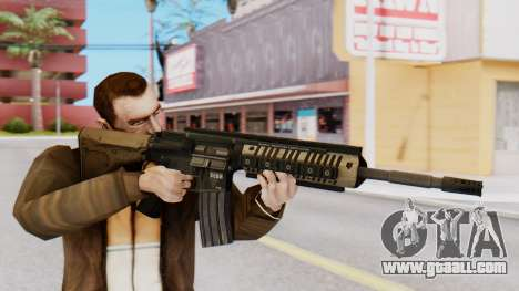 M4A1 Magpul for GTA San Andreas third screenshot