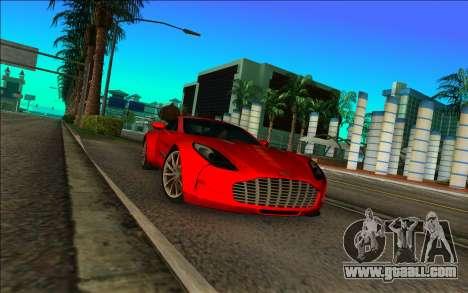 Aston Martin One-77 for GTA Vice City