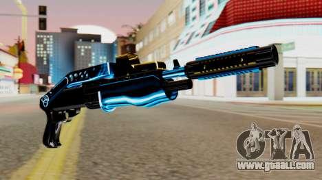 Fulmicotone Shotgun for GTA San Andreas